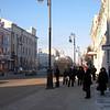 Tyumen city street.