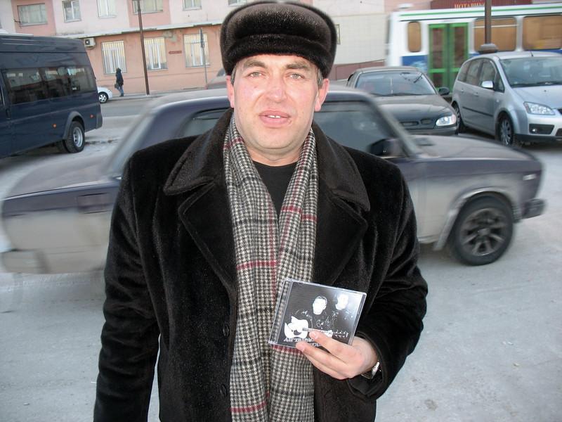 Александр Дударев, пресс-служба администрации, бард и журналист.<br /> Alexander Dudarev, Press Service of Tyumen government.