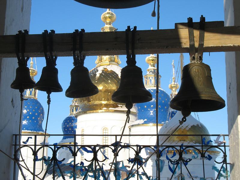 Tobolsk Kremlin church bells.