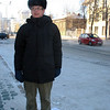 On the street in Tyumen.