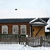 Home of Tatar man Eskander Abdullin in Laytamak. (Siberia, Russia)