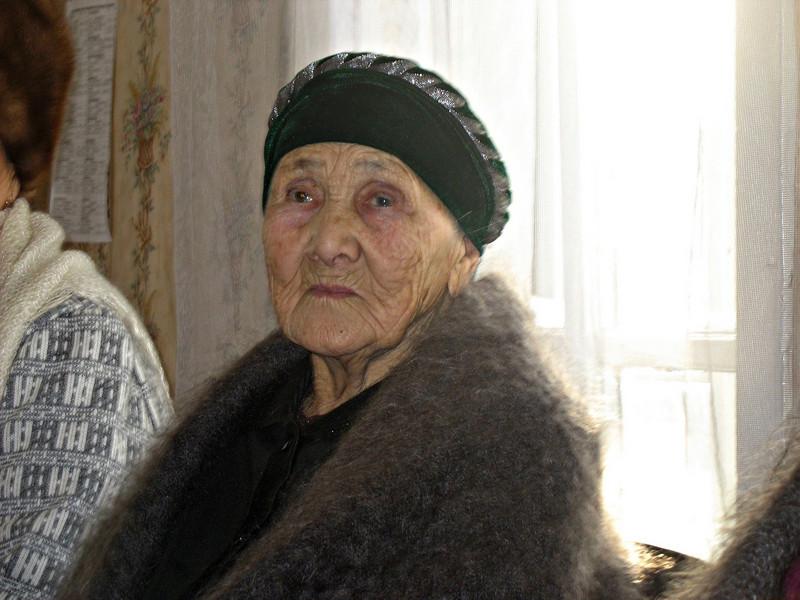 Tatar woman. (Laytamak, Russia)