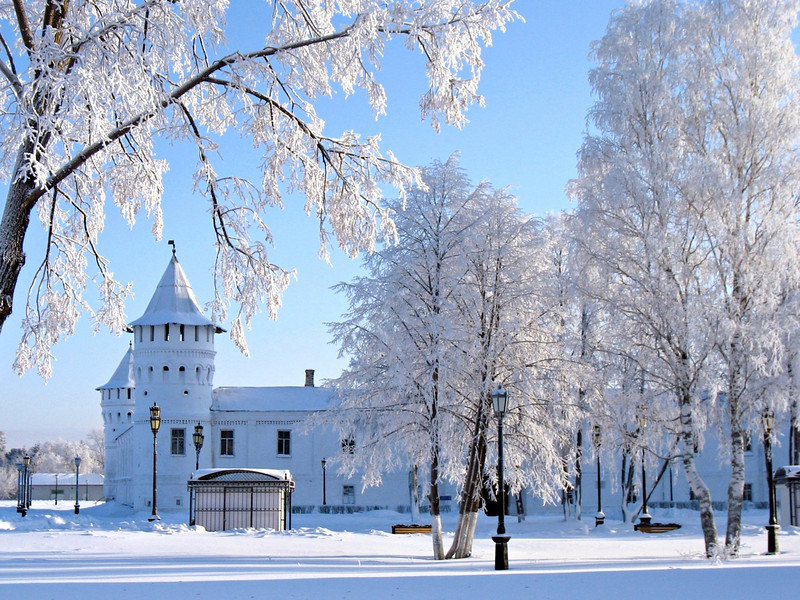 Winter wonderland. (Tobolsk, Russia)