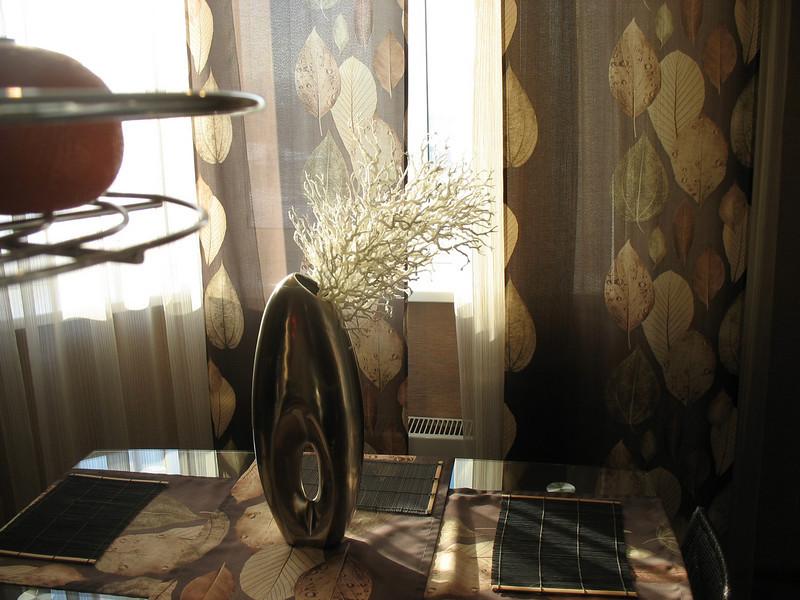 Designer decor - Tyumen model apartment.<br /> Дизайн весьма современный.