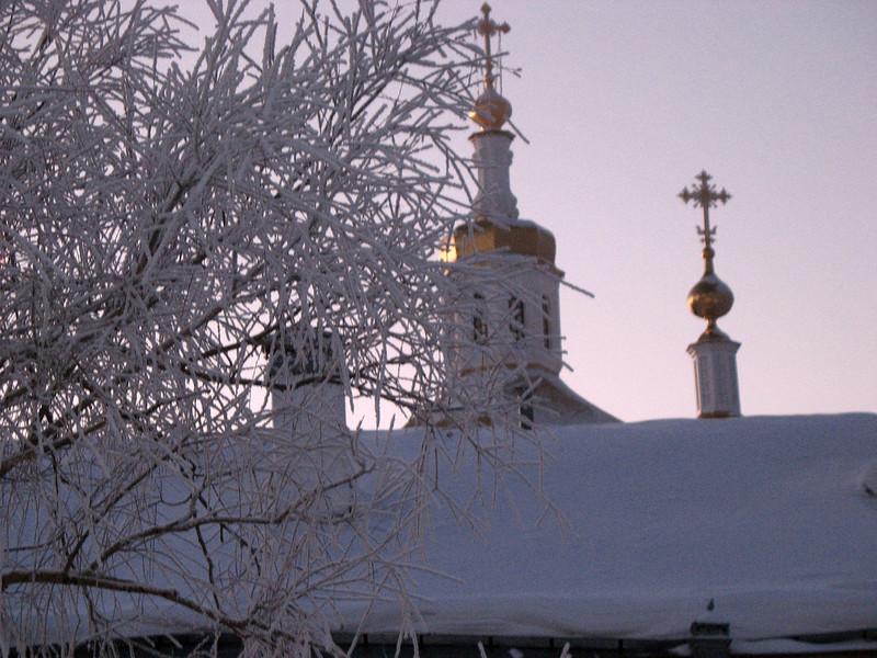 Abalak Monastery. Абалакский монастырь.