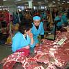 Tyumen meat market.
