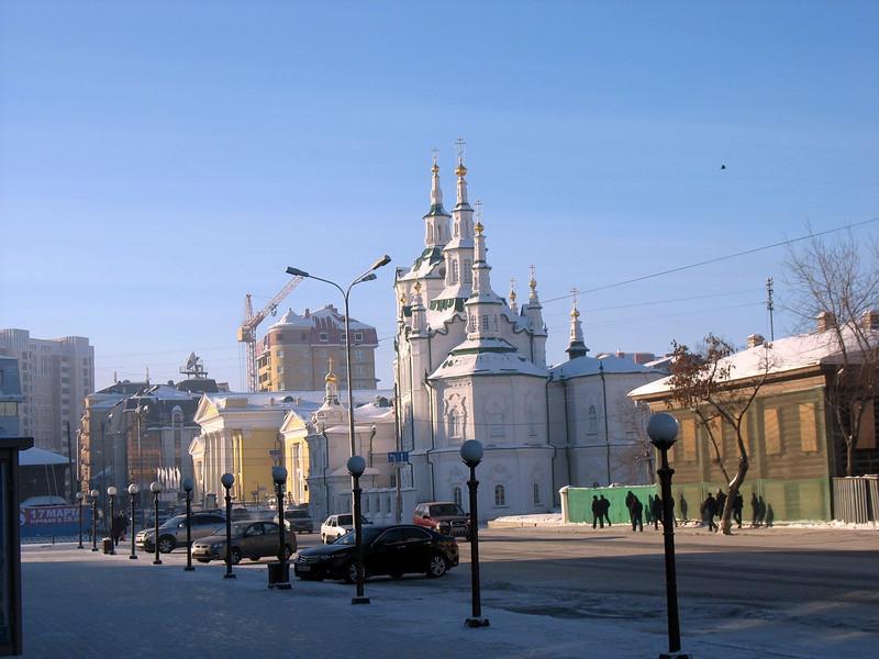 Tyumen cathedral.