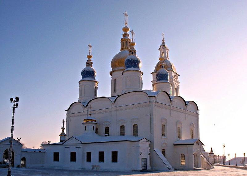 Kremlin church. (Tobolsk, Russia)