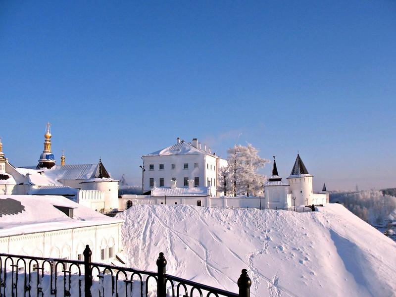 Tobolsk Kremlin from afar.