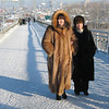 Tymen ladies in their furs.