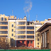 Tyumen contemporary & old buildings.