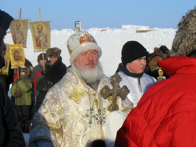 Archbishop Dmitry of Tobolsk. Day of the Epiphany.