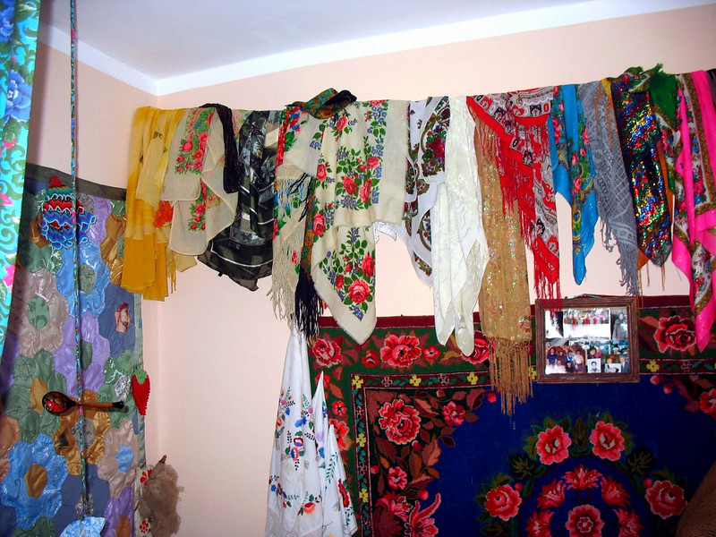 Tatar corner at the Nationalities Cultural Center in Yalutorovsk. Татарский уголок в Нацинальном культурном центре Ялуторовска.