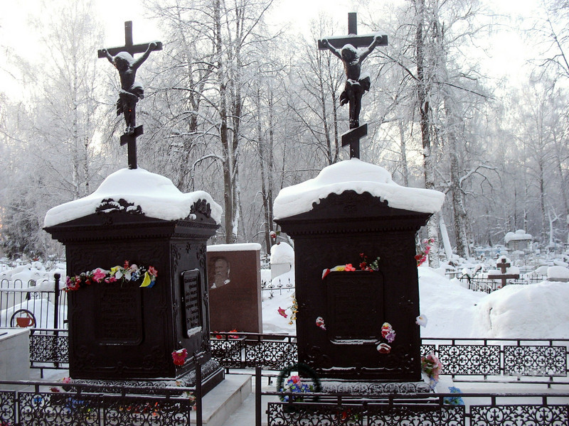 Decembrist grave yard. (Tobolsk, Russia)<br /> Могилы декабристов на кладбище в Тобольске.