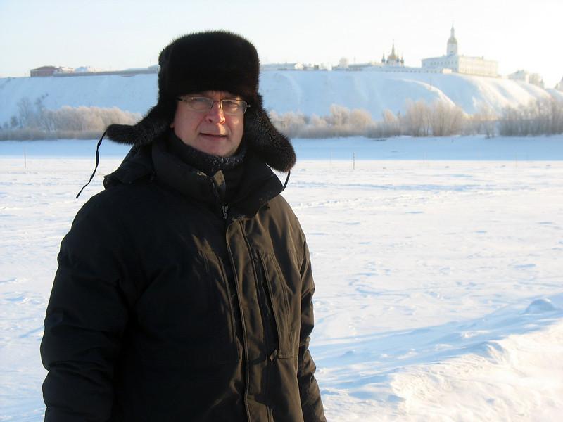 A cold day in Tobolsk.