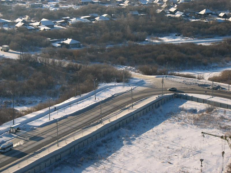 Tyumen road.