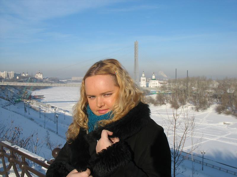Мария Кондратович, радиожурналист. Maria Kondratovich, radio presenter.