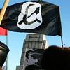 Black Communist flag.