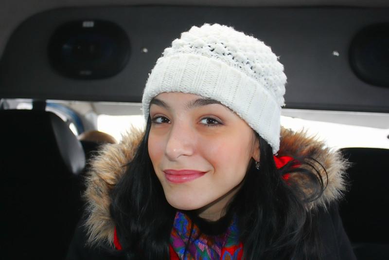 RT correspondent, Karen Tararache. Карен Тарараче, корреспондент RT.
