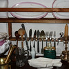 Old silverware & dishes in the Lenin Family home.