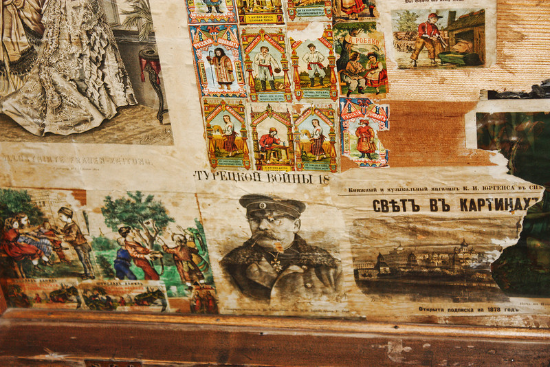 Soviet 'stickers'.
