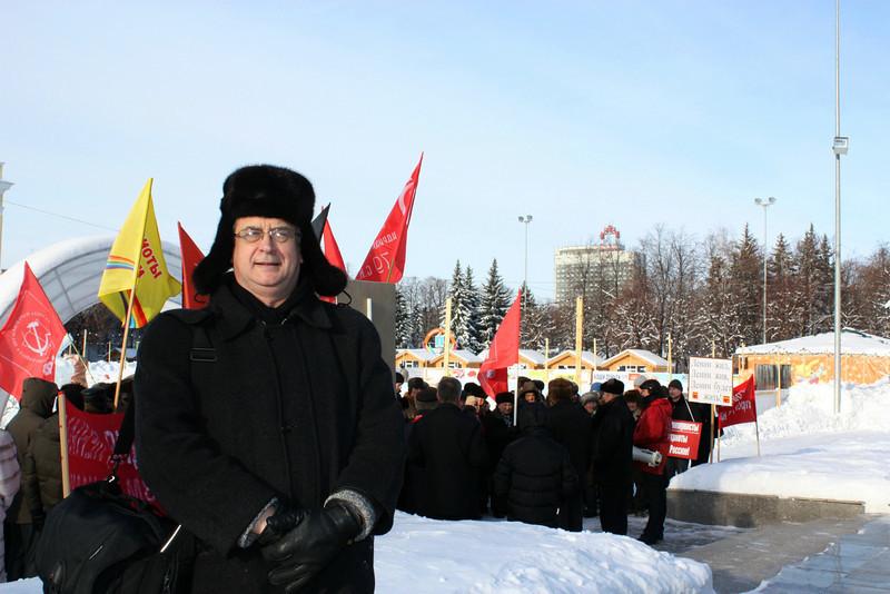 21 января 2012 года. Ульяновск. У памятника Ленину.
