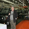 Rustem at the Ulyanovsk Automobile Factory (UAZ) assembly line.