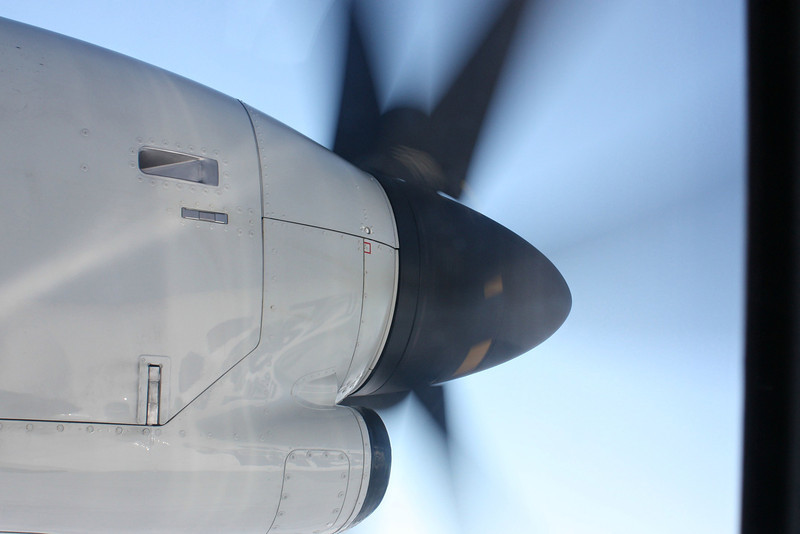 Plane propellers.