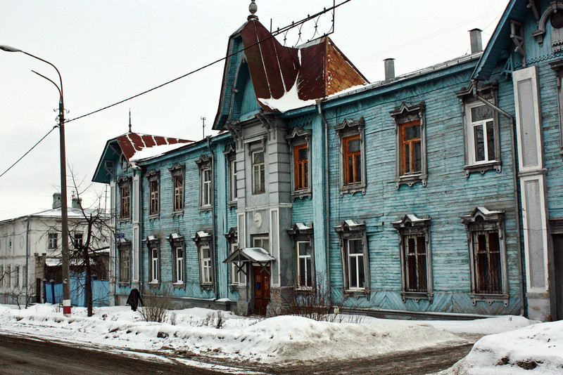 Old architecture in Ulyanovsk.