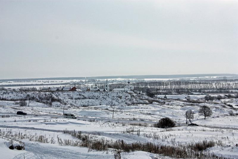 The hills outside Ulyanovsk.