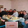 В гостях у главы поселения в деревне Татарский Сайман. Dining as guests at the home of the head of the village of Tatarsky Saiman.