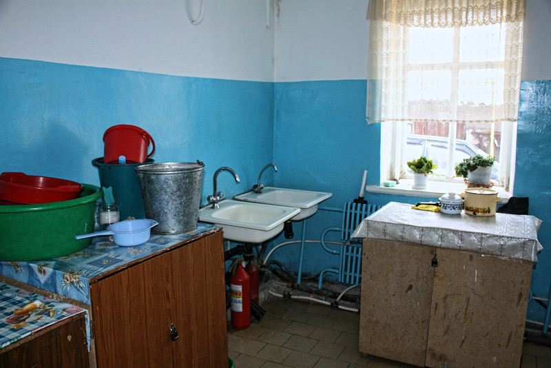 The couple won a car - perhaps a kitchen renovation might have been in order?