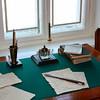 Письменный стол в доме, где рос Володя Ульянов - Desk in Lenin's home.