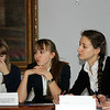 Seminar at Lenin's former gymnasium. В ленинской гимназии страшеклассники обсуждают ленинское наследие.