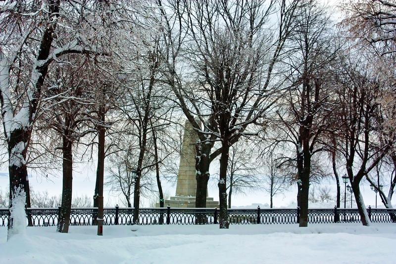 Ulyanovsk embankment.