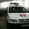 Ambulance manufactured by UAZ.
