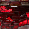 The USSR. Триумальное шествие советской власти. Элепктрическая карта инсталляция с мемериальном музее В.И. ленина в Ульяновске.
