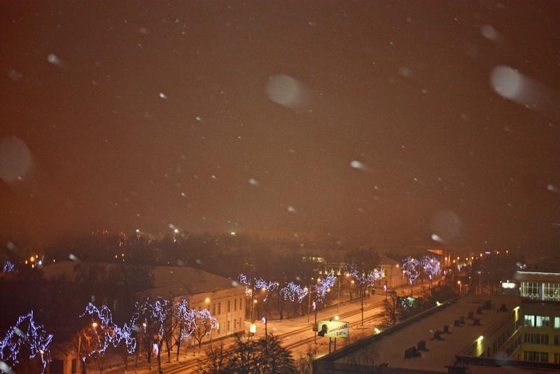 Night view of Ulyanovsk.