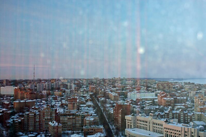 Daylight over Ulyanovsk.