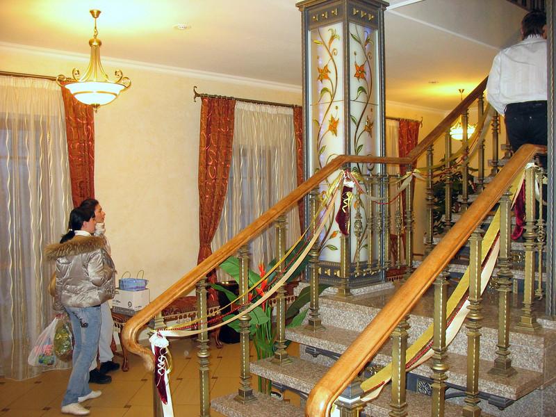 "Our Vladimir hotel, ""Вознесенская слобода""."