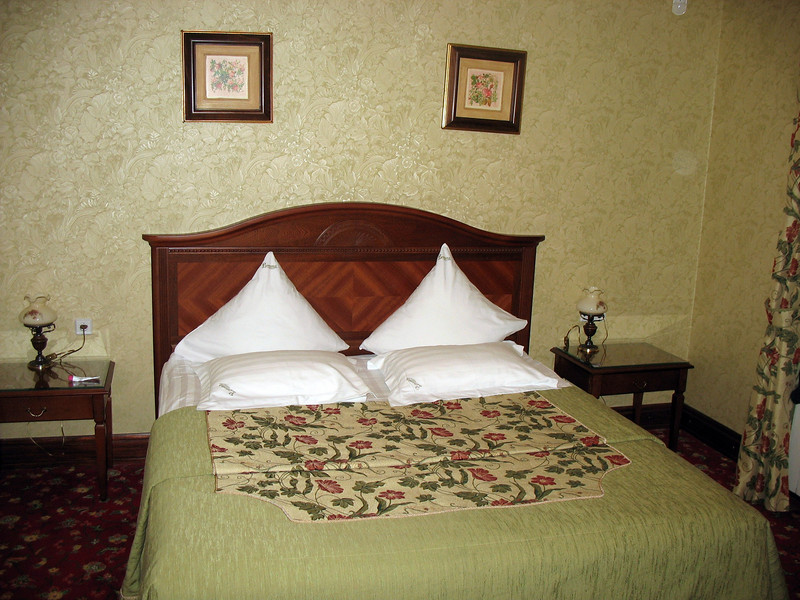 "My room in Vladimir's ""Вознесенская слобода"" hotel."
