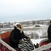 Staci gets a pre-Christmas sleigh ride in Suzdal. (12.20.2009)