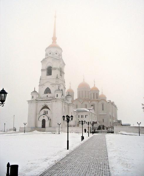 Vladimir's Cathedral of the Dormition (Uspensky Sobor - Успенский Собор). 1185.