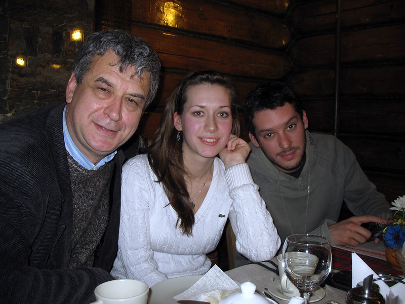 With Vika & Pablo.