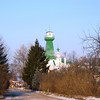 Suzdal on a cold, crisp day. The day's temperature was about -27C.