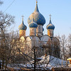 Blue Domes. (Suzdal, Russia)
