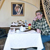 "On the phone in the restaurant ""Ivan Vasilevich"""