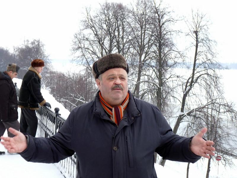 Юрий Ваксман, продюсер, актёр рассказывает о Ярославле, как о кинематографическом городе. Yuri Vaksman, actor & producer.