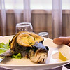 Dinner in Vyatskoe. Fish? Turtle? В ресторане комплекса в Вятском.