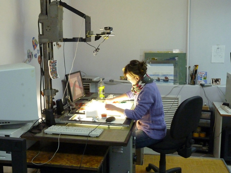 Alexander Petrov's animation studio.